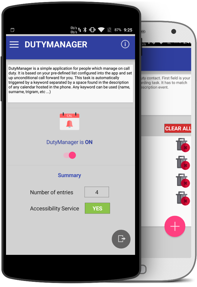 DutyManager - Manage on-call duties easily !